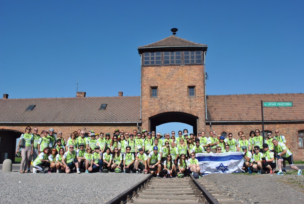 Auschwitz Ride for the Living