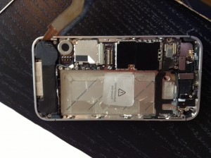 Back of the iPhone