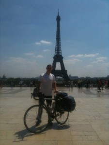 Paris on my bike