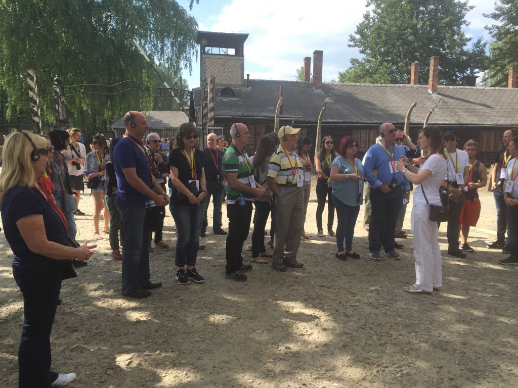 Tour of Auschwitz 1